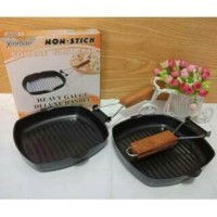 Square Grill Pan Teflon non stick frying pan wajan mini