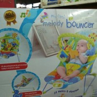 Baby Bouncer Pliko Musical Melodies / Mainan Bayi