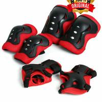 Deker Anak anak INLINE SKATE / Pelindung Lutut Sikut Sepatu Roda Anak