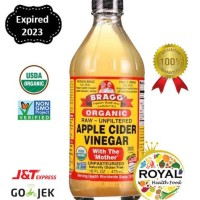 BRAGG Apple Cider Vinegar / Cuka Apel Organik 473 ml