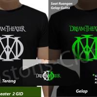kaos band Dream Theater big GID glow in the dark tshirt rock metal