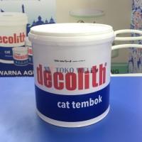 Warna Agung Decolith / Cat Tembok / Warna SUPER WHITE / Galon (5kg)