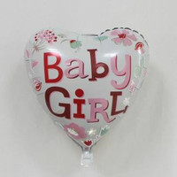 Balon lahiran baby girl / balon foil baby girl / balon love baby girl