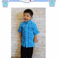 Setelan Koko Celana Flo Kids D| Baju Anak Import Muslim Set Baju Koko
