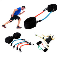 Resistance Band Rally Ankle Wall Pulley Training Aids For Power Adjust