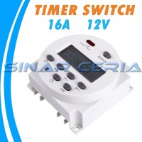 Digital Programmable Timer Switch Auto On/Off Dc 12v16A