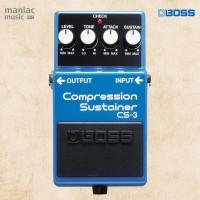 Boss CS-3 (Compressor, Sustainer, Pedal, Efek, Stompbox, Gitar, Bass)