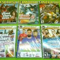 Kaset PS2 Judul Mantap CD PS 2 Slim Dan Fat Judul Keren Termurah