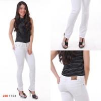 Celana Panjang Cutbray Jeans Wanita Putih BIG SIZE JUMBO JSK Jeans