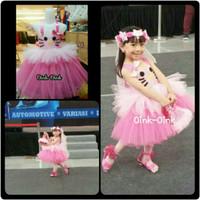 Dress Tutu/Gaun Anak/Gaun Ultah Hello Kitty