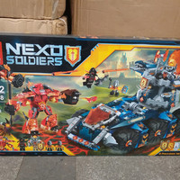 Brick lele 79308 nexo knights axl's tower carrier