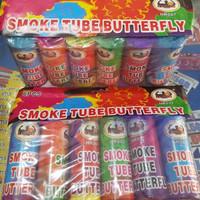 1pack (6pcs) / smoke tube butterfly / smoke bomb / pipa asap