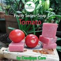 Sabun Tomat   Tomato Soap True Body Care   Mencerahkan, anti jerawat
