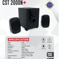 SPEAKER CST 2000N+ Bluetooth USB AUX FM RADIO SIMBADDA