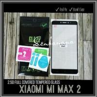 Full Covered Mi Max 2 Tempered Glass 2.5D Color Xiaomi Murah