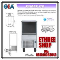 GEA PS42A - PS 42A - FINGER ICE MACHINE - MESIN PEMBUAT ES BATU - NEW