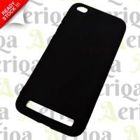 Case Slim Black Matte Xiaomi Redmi 5A - Silicon / Rubber Soft Case