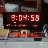Jam dinding digital 3615 murah
