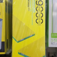 Cuci Gudang!! Powerbank Robot Rt 9100 Orginal Bergaransi 1 Tahun