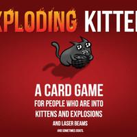 Exploding Kittens/Exploding Kitten Board Games Card Game