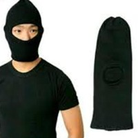 Topi Kupluk Ninja / Topi Full Face / Topi Ronda 1 Lobang