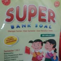 Latihan Soal : Super Bank Soal Kelas 1 SD + Kunci Jawaban