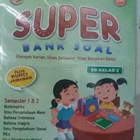 Latihan Soal : Super Bank Soal Kelas 2 SD + Kunci Jawaban
