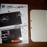 New Nintendo 3ds XL CFW 64GB Putih mantap joss