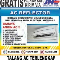 PENAHAN HEMBUSAN AC / AKRILIK AC / TALANG AC Promo paket 4pcs