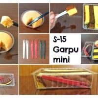 Garpu mini / garpu buah / garpu kue