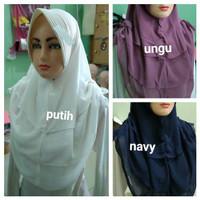 Hijab Instan Murah Nediva Serut Hycon Ceruty Berkualitas