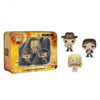 Funko The Walking Dead 3 Pack Tin - Rick, Daryl & Teddy Bear Girl Zomb
