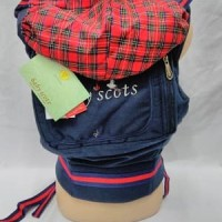 Gendongan Depan Bayi-Gendongan Ransel Baby Scots 4 In 1 BSG3101-Red