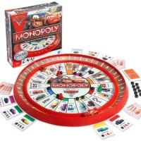 MONOPOLY CAR SPIN LIGHTNING MCQUEEN / family games mainan anak seru
