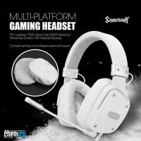 Sades SnowWolf / Snow Wolf Multi Platform Gaming Headset