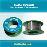 Timah Solder NIPPON dia. 0.8mm / 42 gram / 10m / 42g / 10 meter