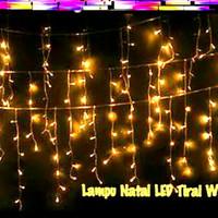 Lampu Tumblr / Natal / Hias / Gantung Tirai 4,5 m 144 led Vosco