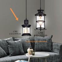 L765 lampu gantung hias lighting minimalis pendant vintage retro