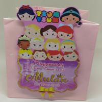 Paperbag Tsum Tsum Paper Goodiebag Tas Ultah Ulang Tahun Surabaya