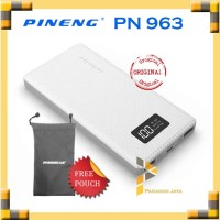 Powerbank Pineng / Pineng Powerbank PN-963 10000 mAh Putih ORIGINAL
