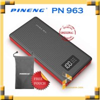 Powerbank Pineng / Pineng Powerbank PN-963 10000 mAh Hitam ORIGINAL