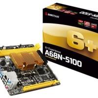 BIOSTAR A68N-5100 AMD A4-5100 Quad-Core APU Mini ITX + Ram 4GB