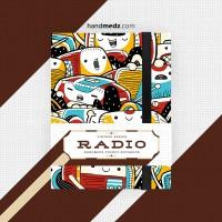 Pocket Notebook seri Radio ( Buku Catatan / Buku Jurnal )