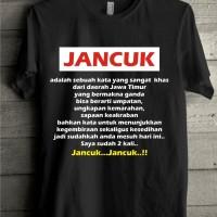 Kaos T Shirt Oblong Distro Boso Jawa Timur Jancuk Part 3