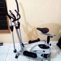 Sepeda Statis Elliptical Crosstrainer Bike TL-8502 Total Fitness
