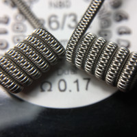 staggered fused clapton Authentic 26+36*2+36 ni 80 sandvik sweden