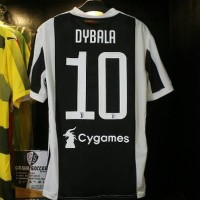 JERSEY JUVENTUS HOME NAMESAT DYBALA NO 10 Je602 New