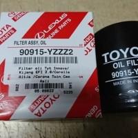 Filter Saringan Oli Toyota Innova Diesel Original 90915-YZZZ2