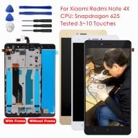 Xiaomi Redmi Note 4X LCD Display Digitizer Touch Screen Frame