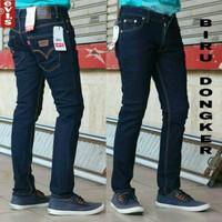 Celana jeans levis stretch biru dongker